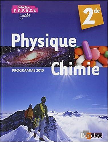 Lire un E.S.P.A.C.E 2de • Manuel de l'élève Petit format (Éd. 2010) pdf, epub