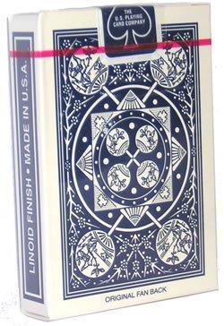 Cards Tally Ho Fan Back Poker size (Tally Ho Fan)