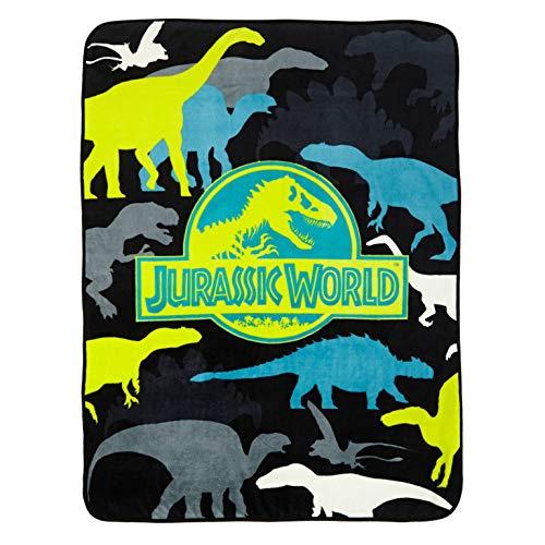 Universal Jurassic World Prehistoric Microraschel Throw, 46