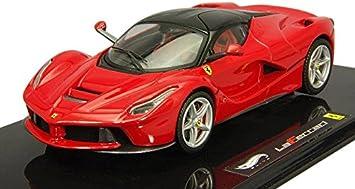Hot Wheels Modellauto 1 43 Elite Laferrari Rot Bct83 Spielzeug
