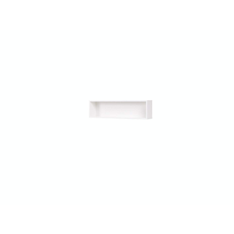 Mb-moebel Moderne Wohnzimmer Möbel Regale Wandregal Hängeregal Dekorationsregal M12 Moon (Weiß)