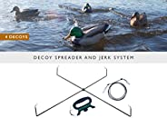 Single Decoy Spreader and Jerk System
