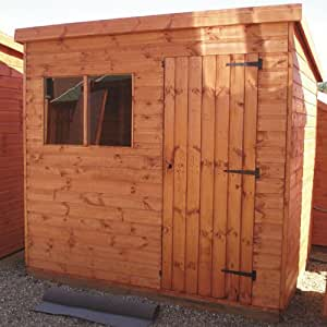 TGB 6ft x 4ft (1.82m x 1.22m) Superior Pent 22mm Shiplap