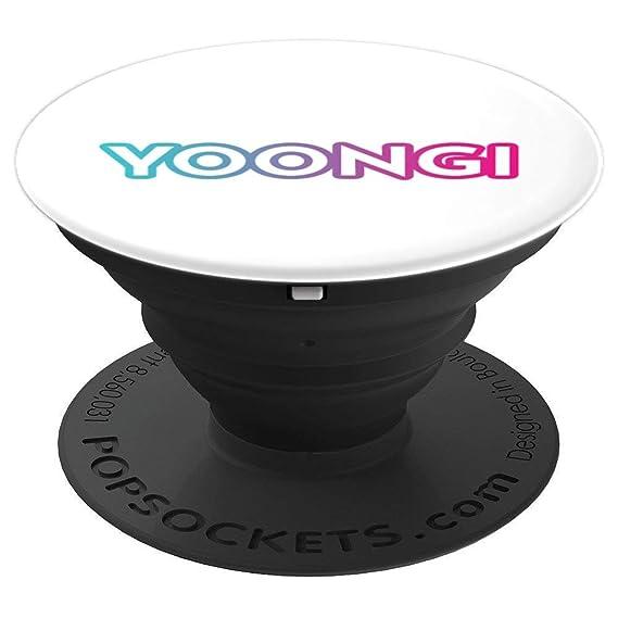 Amazon Yoongi White Phone Grip Gift For Kpop Fans