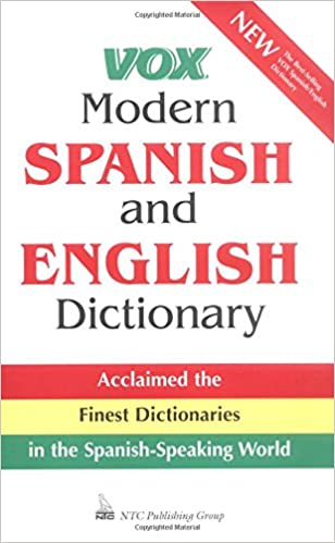 Amazon Com Vox Modern Spanish And English Dictionary  Vox Books