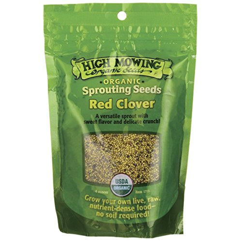 Sprouting Seeds Red Clover 4 Ounce Packets