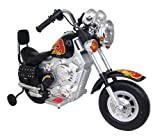 New Star Muscle Motorbike with Training Wheels in Black