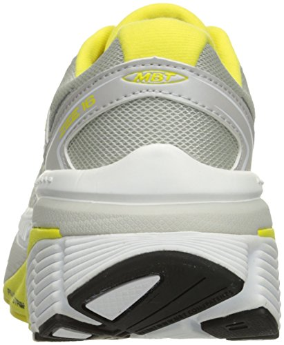 MBT Zee 16, Sneakers para Mujer Multicolor (White/yellow)