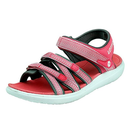 6939b08f0279 Lotto Women s Marcello Fashion Sandals  Buy Online at Low Prices in India -  Amazon.in
