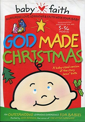 Christian Kids DVD Baby Faith: God Made Christmas (Ages 3-36 Months)