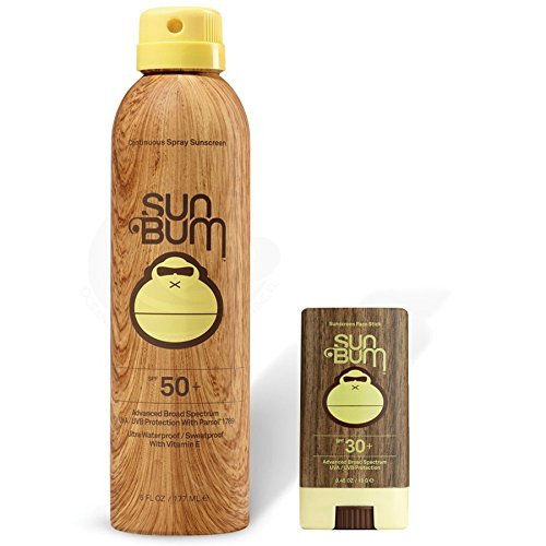 Sun Bum SPF 50 Spray Sunscreen + Face Stick SPF 30