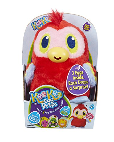 KooKoo Egg Drops 721IT Parrot Soft Toy