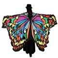 Shireake Baby Halloween/Party Prop Soft Fabric Butterfly Wings Shawl Fairy Ladies Nymph Pixie Costume Accessory …