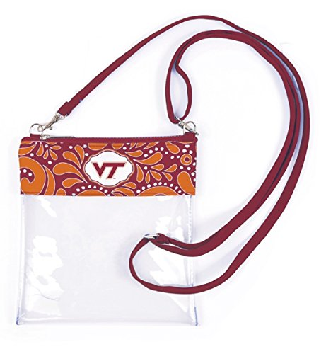 Virginia Tech Clear Gameday Crossbody Bag