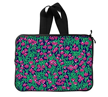 new product fa9c7 044d7 Amazon.com: lilly pulitzer Laptop Sleeve 13 / 13.3 Inch for Macbook ...
