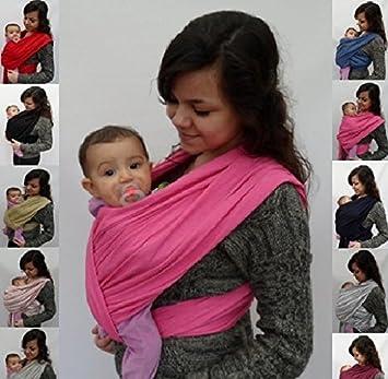 porte bébé ECHARPE DE PORTAGE neuve SANS NOEUDS (tubes)  FUCHSIA  idée  cadeau 1b81b81a8c9