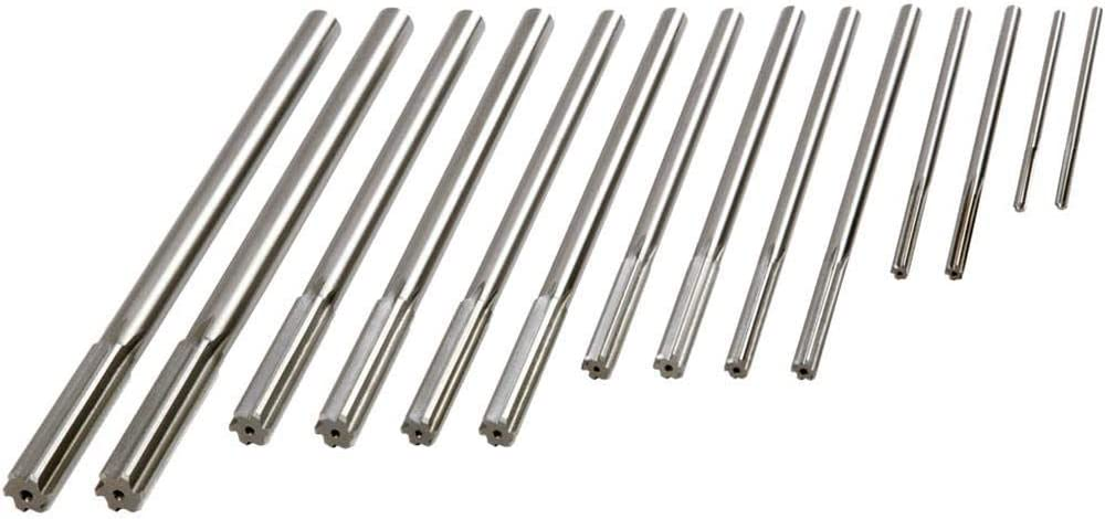 Grizzly Industrial H5603 - Over/Under Chucking Reamer 14 pc. Set