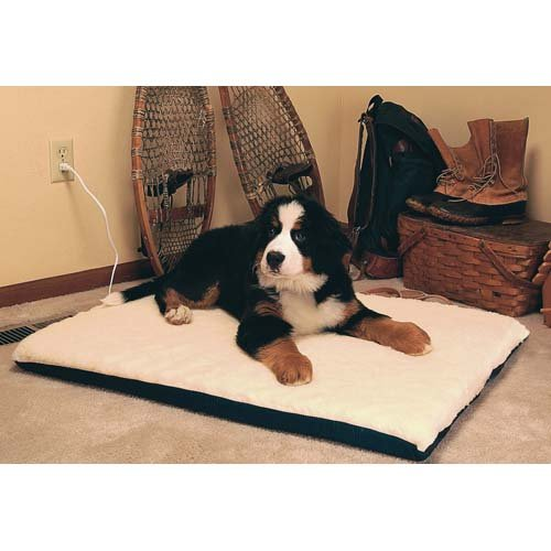 Ortho Heated Dog Pad with Stay Put Bottom Size Extra Large 43 L x 33 W