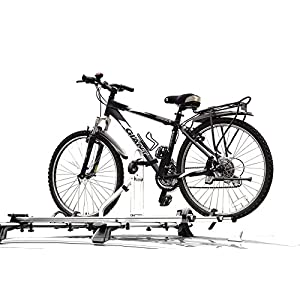 Travel Life Alloy Car Roof Bicycle Carrier Rack for 2 Bikes