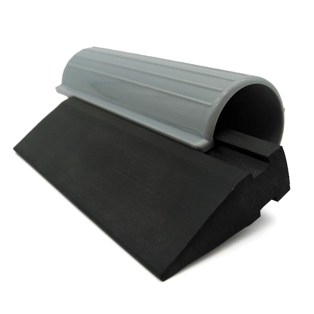 Kitchen Sink Cleaning Window Tinting GUGUGI CARTINTS 4 Inch Black Mini Tube Rubber Squeegee Car Vinyl Wrap Squeegee Window Water Wiper Water Blade for Auto Wrapiing