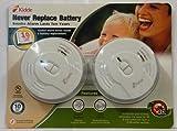 Kidde Longlife Ionization Sensor Smoke Alarm Twin Pack For Sale