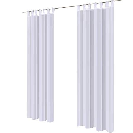 Schlaufenschal transparent