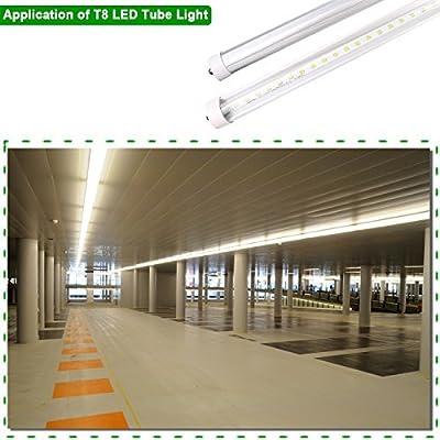 Hykolity 8FT T8 LED Tube Light
