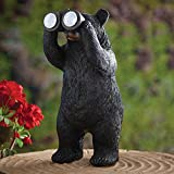 Cheap Bits and Pieces Garden Décor-Bear With Binoculars Solar Statue for Lawn, Patio, Yard or any Outdoor Area – Realistic, Textured and Durable Polyresin Sculpture for Your Home