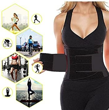 b75d7d6c4e8 Mossun Women s Slimming Waist Trainer Belt For Weight Loss - Waist Cincher  Trimmer Sport Training Girdle