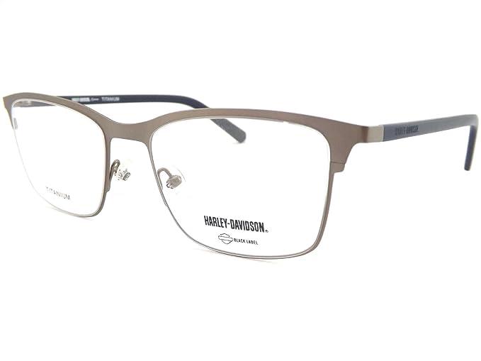 Harley Davidson Glasses Frame Gunmetal HD1017 011: Amazon.co.uk ...