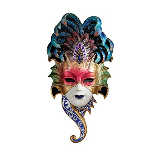 Design Toscano The Venetian Masquerades Sculptural Wall Masks: Maiden del Belluno
