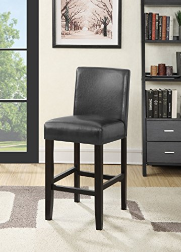 Roundhill Furniture PC502GY Grey City Light Counter Height Barstool (Set of 2)