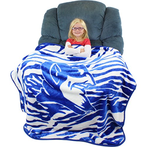 "College Covers Duke Blue Devils Super Soft Raschel Throw Blanket, 50"" x 60"""