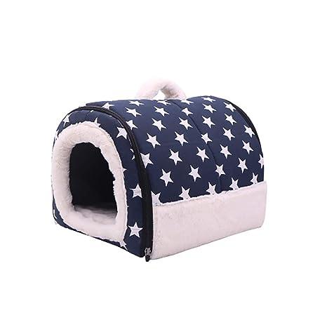 WANGXIAOLIN Cama de Perro, Perrera, casetas de tamaño pequeño y Mediano, Camas para