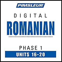 Romanian Phase 1, Unit 16-20