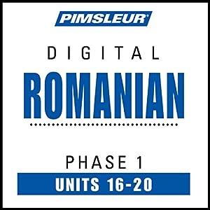 Romanian Phase 1, Unit 16-20 Audiobook