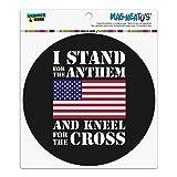 I Stand For The Flag Kneel Cross USA American Flag