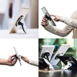 TORCHGRIP Universal Tablet Stand and Tablet Handle for iPad, Samsung and Most Other Tablets (Black/Black)
