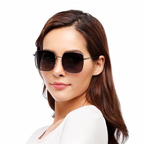 Rezi Sunglasses for Women, Sun Glasses Square R...