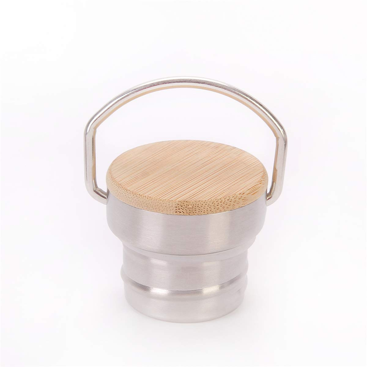 KOSHINE Bamboo bottiglia tappo in acciaio INOX per Swell Mira Klean Kanteen borraccia, Regular