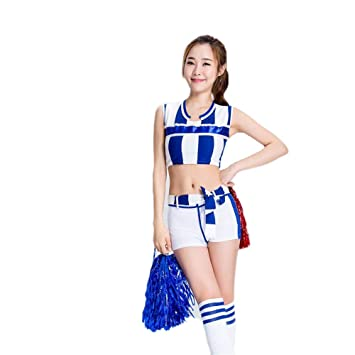 26d9e17e5c6 Cheerleader Fancy Dress,Girl Cheerleading Uniform Dress Football ...