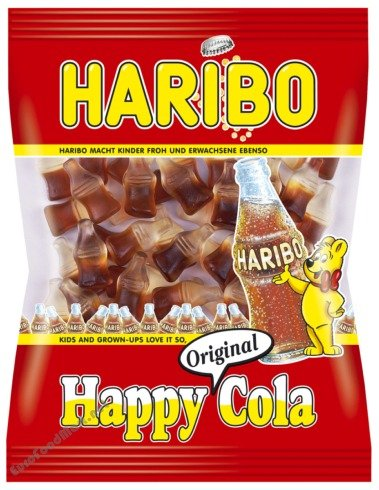 amazon com haribo happy cola gummi candy 200g german candy