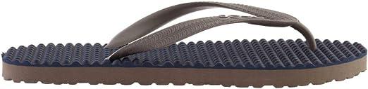 Souls Zehentrenner Unisex Australian Thongs Original Massage Noppen Sohle Monaco Blue 1007 Lifestyle Sandale Wellness Massage Badeschuhe Badelatschen Strandschuhe f/ür Damen Herren