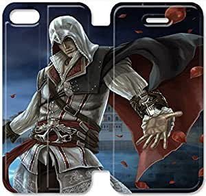 Elegant Printing Ezio Auditore Da Firenze-13 iPhone 6/6S Plus 5.5 Inch Leather Flip Case