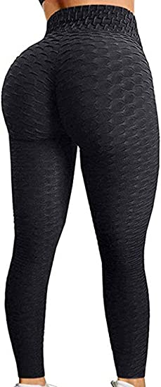 MANIFIQUE Yoga Pants Workout Leggings with Pockets Tummy Control High Waist Running Pants Gym Fitness