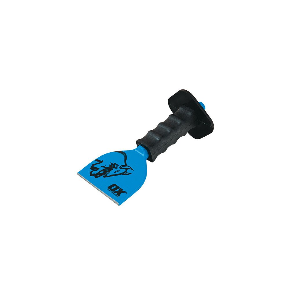 OX OX-T090503 Trade Brick Bolster with Guard, Blue, 75 mm