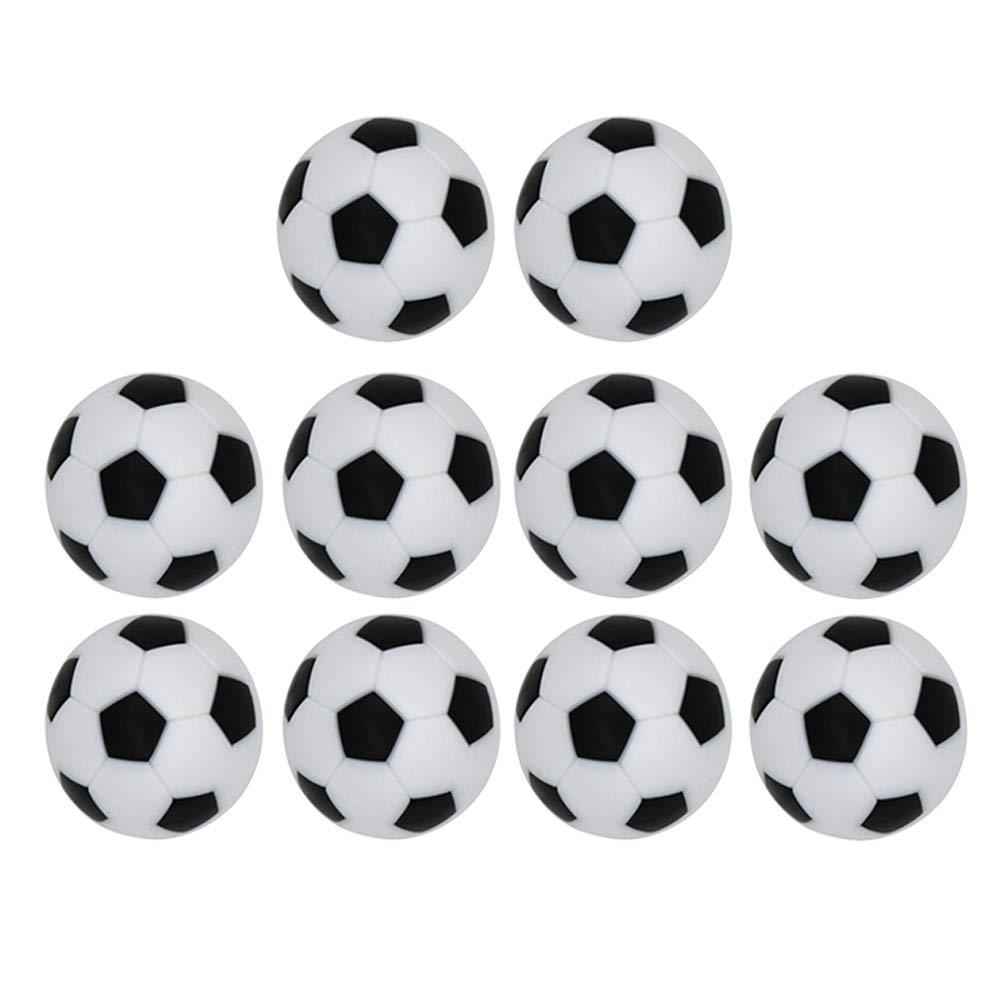 LIOOBO 10 Piezas de 32 mm de Mesa de fútbol Juego de futbolín ...