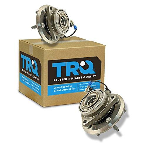 TRQ Wheel Hub & Bearing Front Left & Right Pair Set of 2 for Equinox Torrent Vue