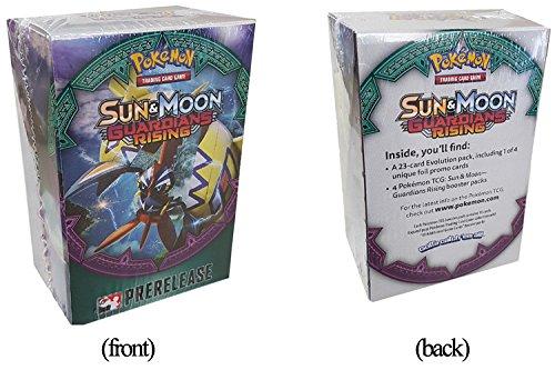 Pokemon Card Game Guardians Rising Sun & Moon TCG Prerelease Booster kit box