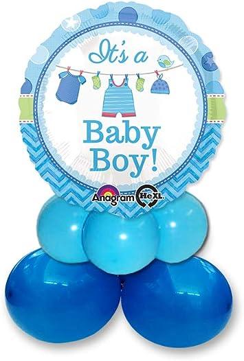 Irpot Kit n 2 Shower with Love Boy Addobbi Baby Shower Bimbo Accessori Festa